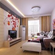 现代靓丽客厅装饰