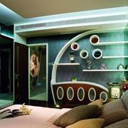 卧室个性化置物架
