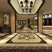 中式风格背景墙装潢