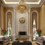 欧式风格的客厅窗帘