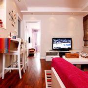 一居室客厅吧台