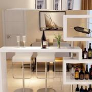 造型新颖的吧台酒柜