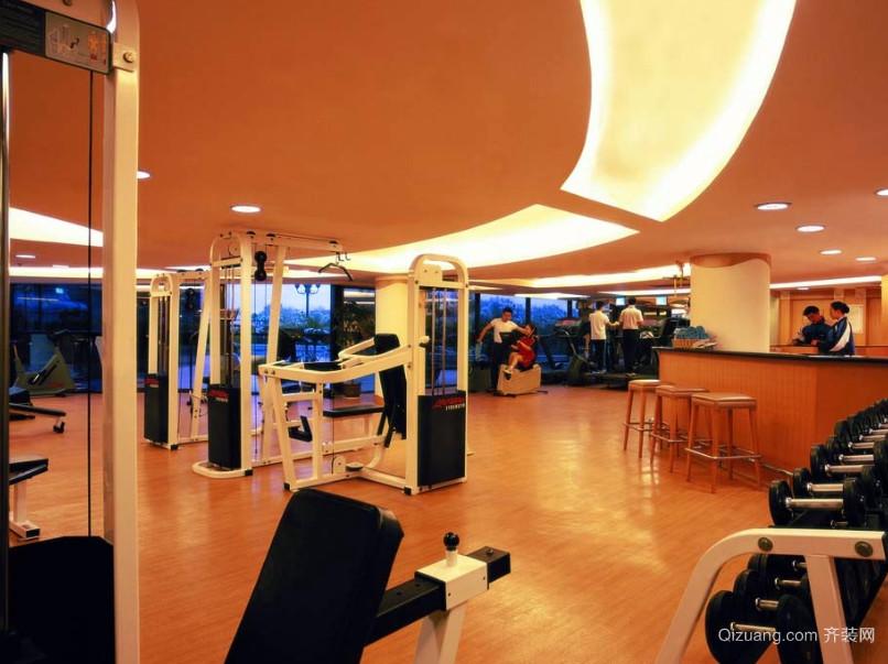 锻炼出好身材的健身房地板装修效果图