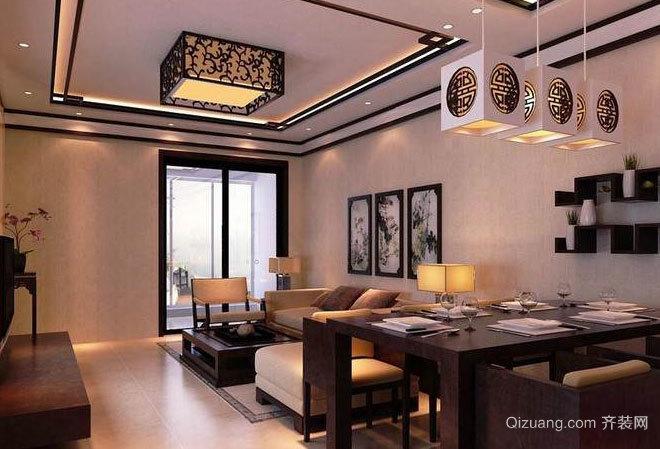 2015传统的中式客厅装修效果图鉴赏