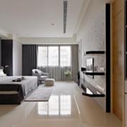 公寓卧室装潢设计