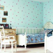 儿童房清新壁纸欣赏