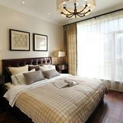 温暖优雅的卧室吊顶