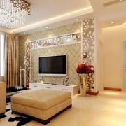 现代化的客厅装潢