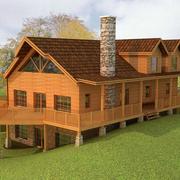 冬暖夏凉的木屋