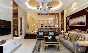 奢华的大户型客厅