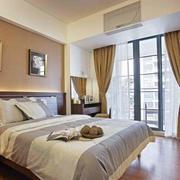 现代美式卧室设计