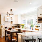 现代美式风格的厨房