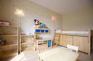 乡村田园风格的儿童房设计装修图片鉴赏