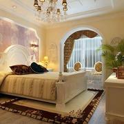 温馨时尚的卧室吊顶