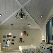 卧室巧妙的吊顶