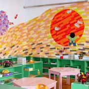 幼儿园墙面整体布置