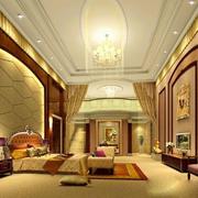 别墅超级豪华的卧室