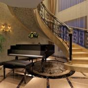 装饰效果极好的楼梯