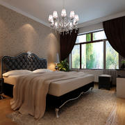 现代简欧风格卧室