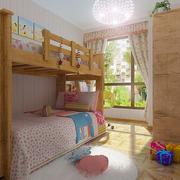儿童房实木床展示