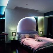 卧室灯光图片欣赏