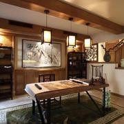 书房实木装潢展示