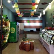 水果店绿色装饰
