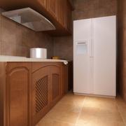厨房实木橱柜欣赏