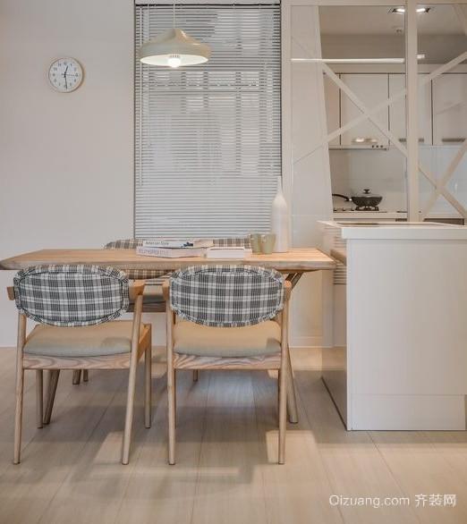 现代时尚日式厨房装修效果图