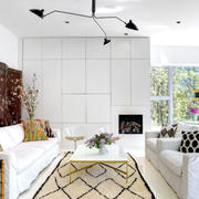 简洁的客厅吊顶