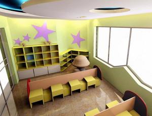 2015天真烂漫的现代幼儿园教室布置效果图