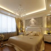 卧室温暖黄色窗帘