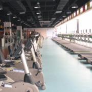 健身房pvc地板装潢