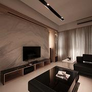客厅纹路清晰的背景墙