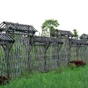 乡村朴素的围墙