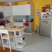 清新靓丽的厨房