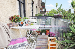 浪漫小资情调的法式露台花园设计图片鉴赏