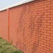 精致的红砖围墙