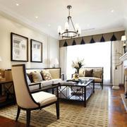 混搭风格的客厅装潢