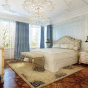 欧式风格的卧室软装