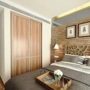 精致卧室实木隐形门