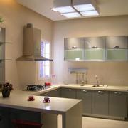 L字型厨房设计欣赏