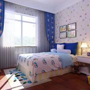 儿童房窗帘展示