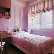 儿童房粉色墙面