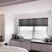 卧室舒适飘窗展示