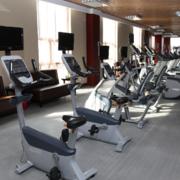 健身房中性冷色地板