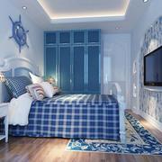 家装清爽的卧室展示