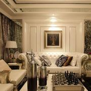 精致优雅的客厅沙发