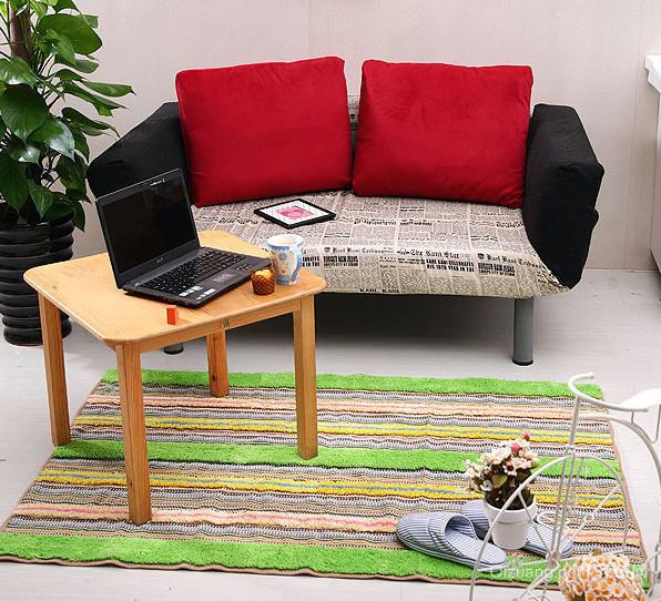2015时尚都市家居客厅地毯装修效果图