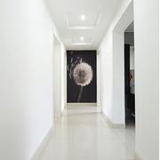 简约白色的走廊图片